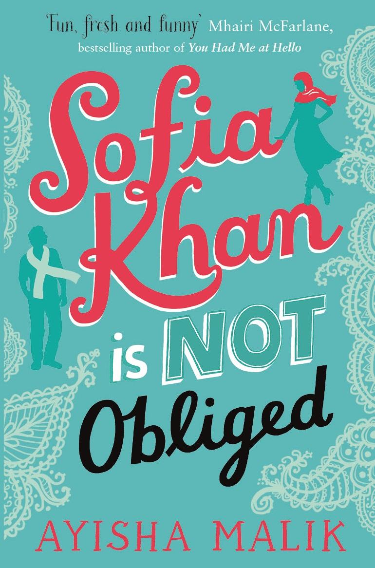 Sofia Khan paperback jacket print